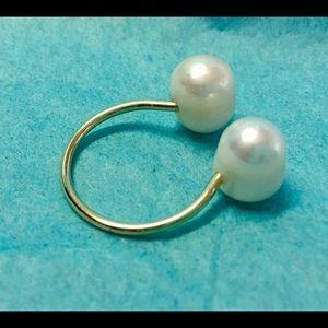 ERTH Freshwater pearl ring